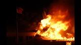 Firefighters battle blaze in Harpswell