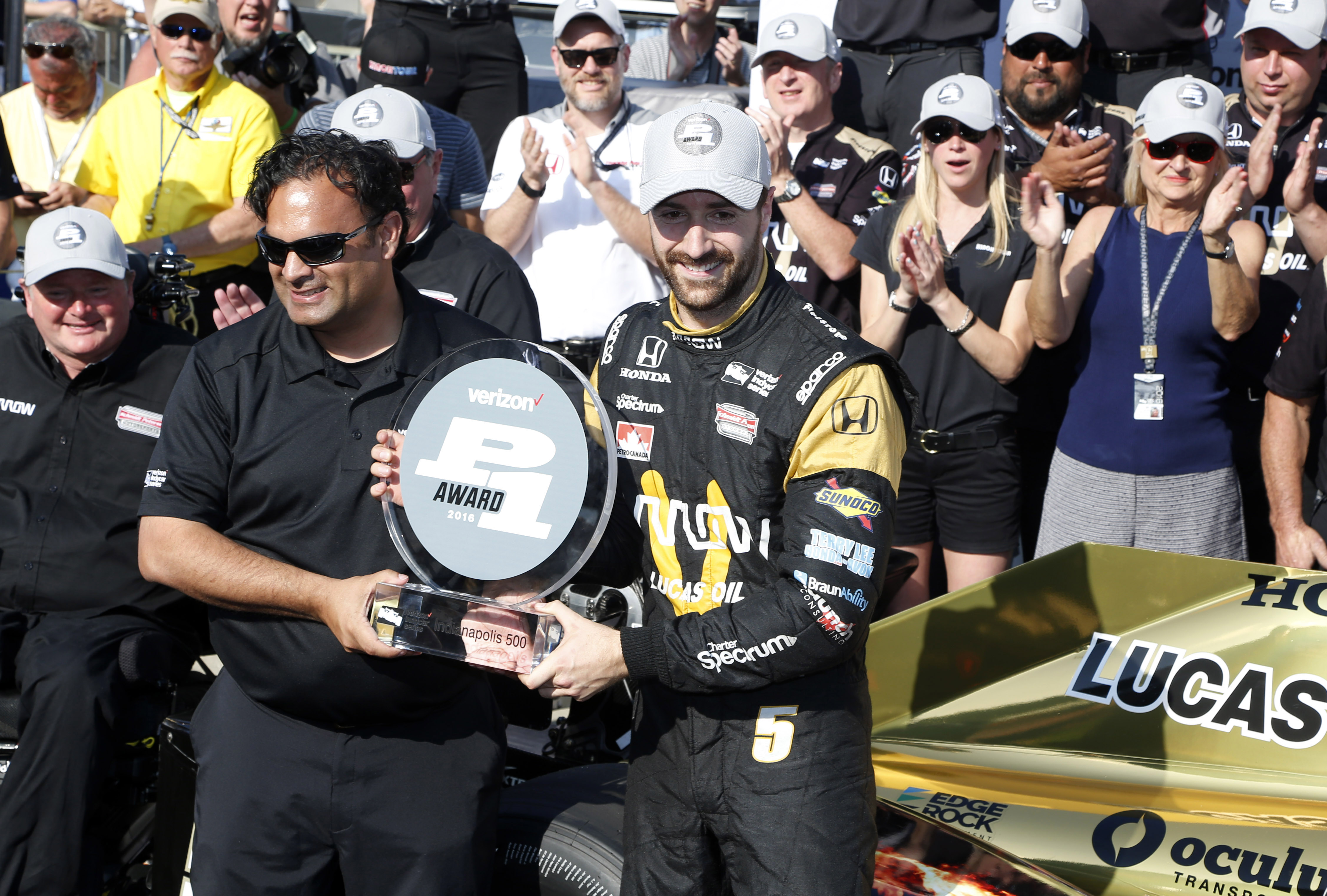 James Hichcliffe Claims Indy 500 Pole