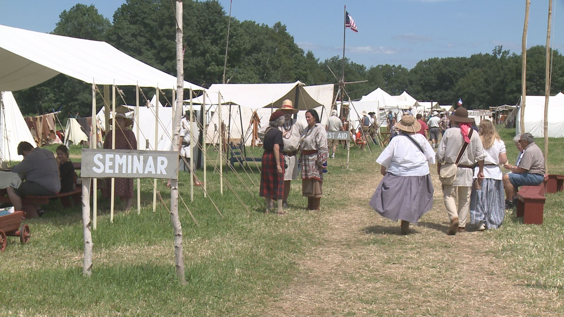 Orrington hosts primitive rendezvous of frontiersmen and for Rendezvous classic house